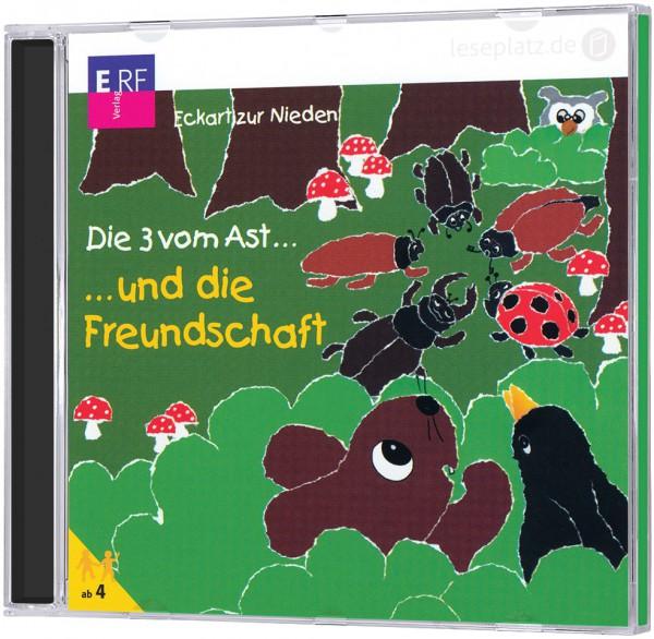Die 3 vom Ast ... und die Freundschaft - CD