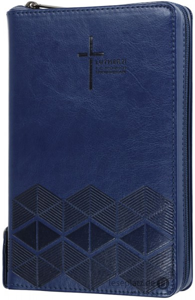 Luther21 - F.C.Thompson Studienausgabe - Taschenausg.- Kunstleder PU blau