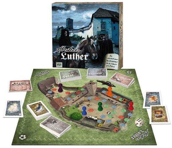 Gesellschaftsspiel ''Abenteuer Luther''