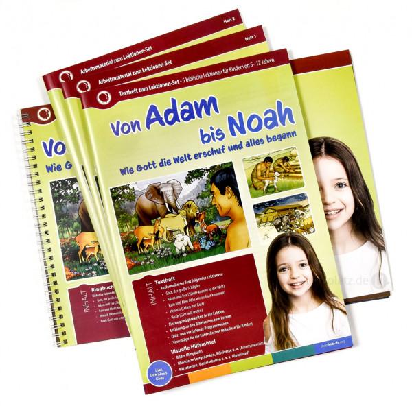 Von Adam bis Noah (Lektionen-Set)