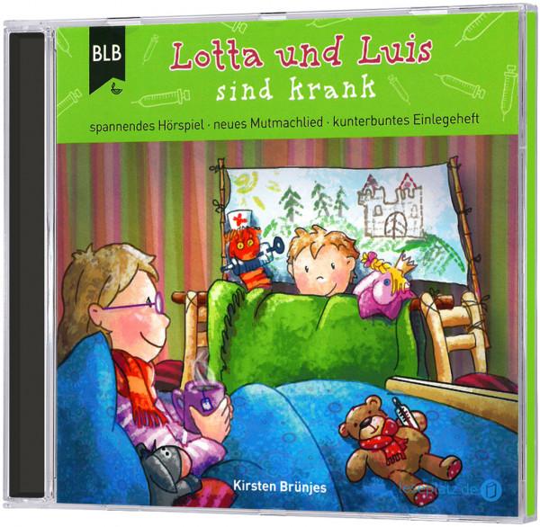 Lotta und Luis sind krank - CD