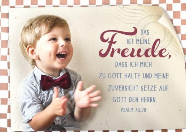 "Postkarte ""Meine Freude"""