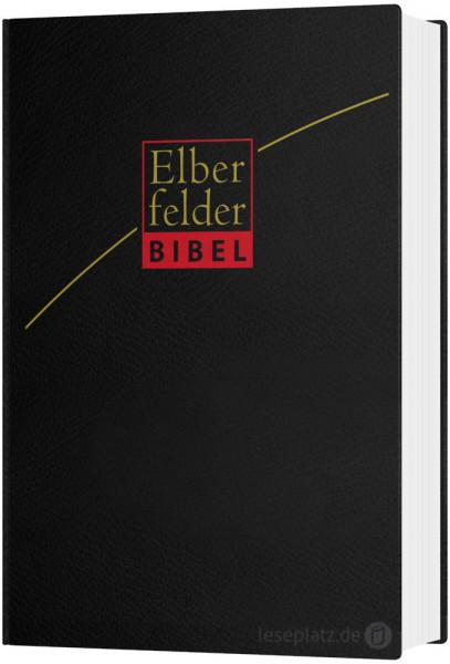 Elberfelder Bibel 2006 in großer Schrift - Leder schwarz