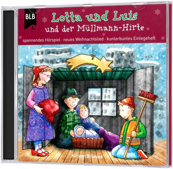 Lotta und Luis und der Müllmann-Hirte - CD