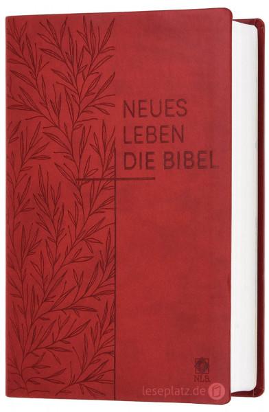 Neues Leben. Die Bibel - Standardausgabe - Kunstleder rot