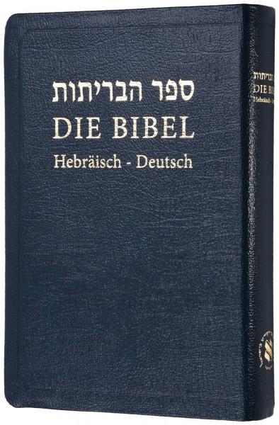 Die Bibel - Hebräisch-Deutsch (Leder / Goldschnitt)