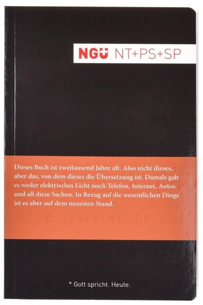 NGÜ - Neues Testament mit Psalmen und Sprichwörter