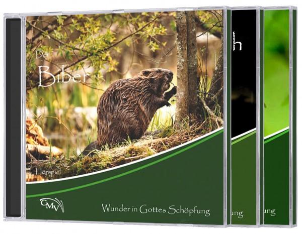 """""""Wunder der Schöpfung"""" - Set (3 CDs)"""