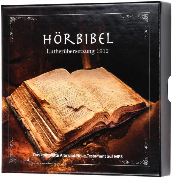 Hörbibel - Lutherübersetzung 1912 (8 MP3-CDs)
