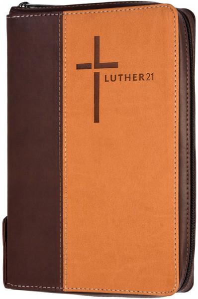 Luther21 - Standardausgabe - Kunstleder Cowboy-braun/beige