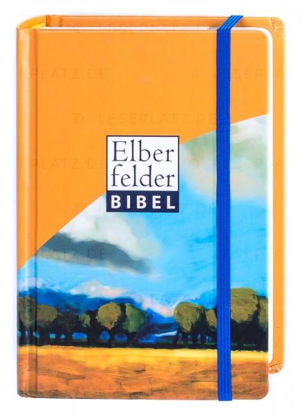 """Elberfelder Bibel 2006 Senfkornausgabe - Motiv """"Lindenallee"""" mit Gummiband"""