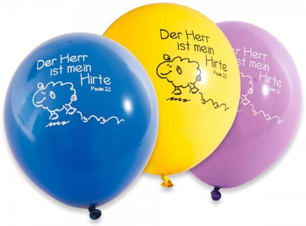 Luftballon ''Der Herr ist mein Hirte'' - 10er Pack