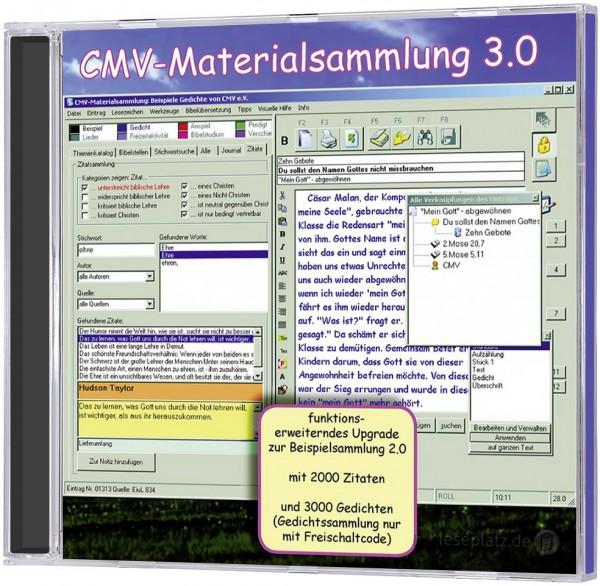 Materialsammlung 3.0 - mit Freischaltung für Gedichte und Beispiele