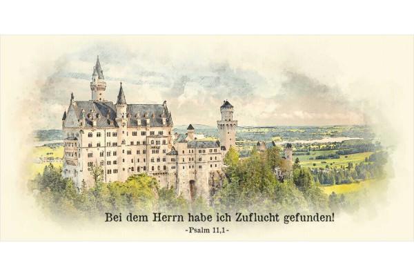 """Faltkarte Art 10 """"Schloss"""""""
