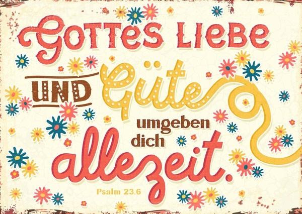 """Postkarte """"Allezeit"""""""