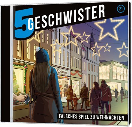 5 Geschwister CD (21) - Falsches Spiel zu Weihnachten