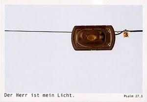 """Postkarte """"Der Herr ist mein Licht"""""""