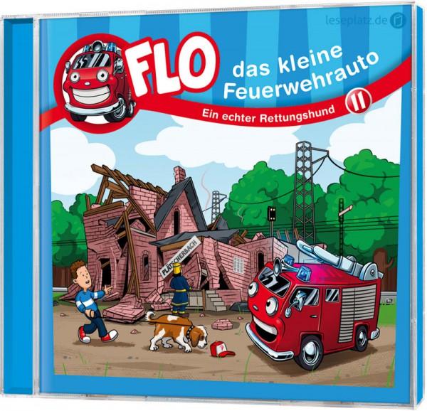 Flo - Das kleine Feuerwehrauto (11) - CD