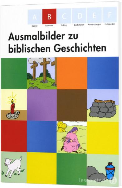 Ausmalbilder zu biblischen Geschichten / Heft B