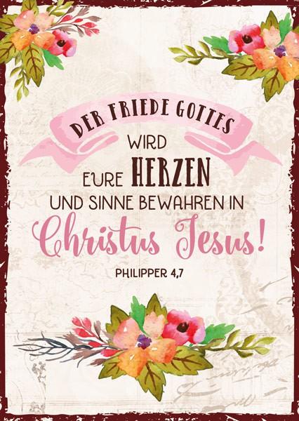 """Postkarte """"Der Friede Gottes"""""""