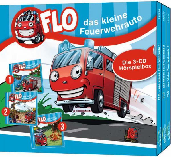Flo, das kleine Feuerwehrauto - CD-Box 1 (Folgen 1-3)
