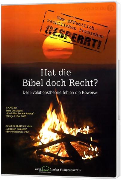 Hat die Bibel doch recht? - DVD