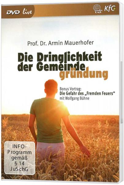 Die Dringlichkeit der Gemeindegründung (4 DVDs)