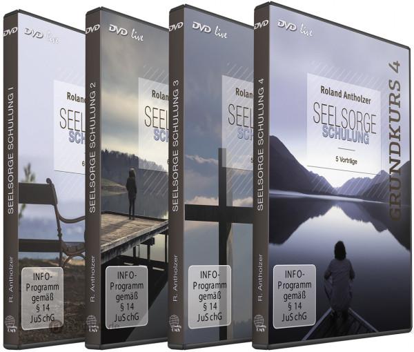 Seelsorge Schulung Grundkurs 1-4 (6 DVDs)