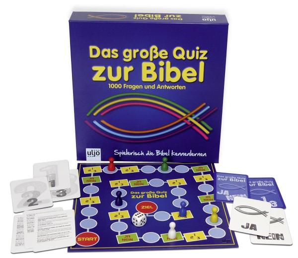 Gesellschaftsspiel ''Das große Quiz zur Bibel''