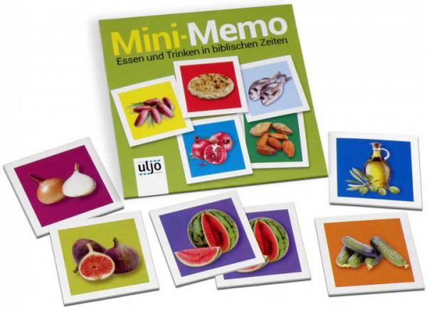 Mini-Memo ''Essen und Trinken in biblischen Zeiten''