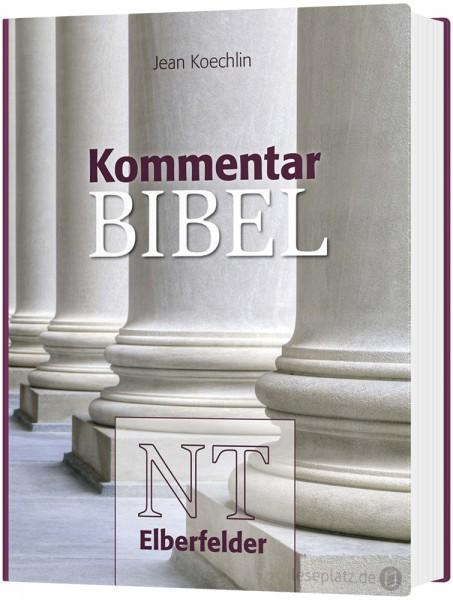 Kommentarbibel ''Säulen'' Elberfelder NT