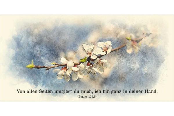 """Faltkarte Art 09 """"Blüten"""""""