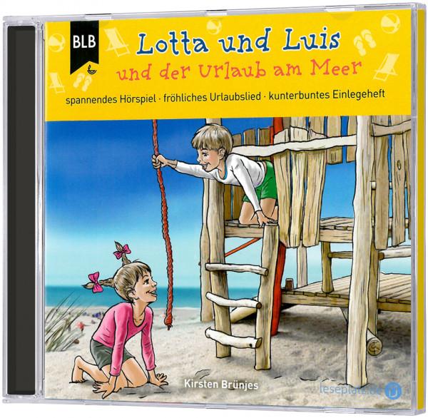 Lotta und Luis und der Urlaub am Meer - CD