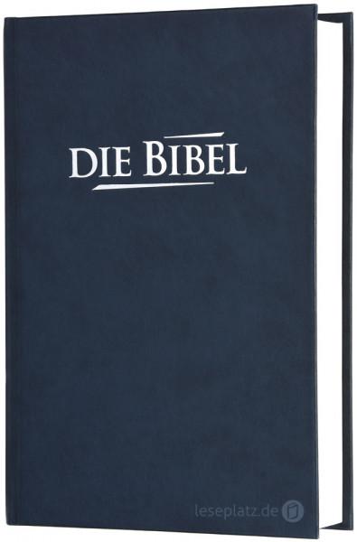 Elberfelder 2003 - Taschenausgabe / Kunstleder blau