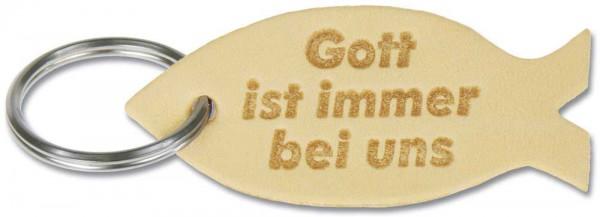 Schlüsselanhänger - Leder ''Fisch''