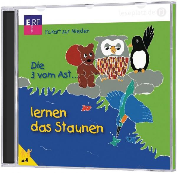 Die 3 vom Ast ... lernen das Staunen - CD