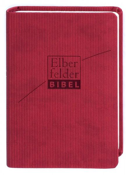 Elberfelder Bibel 2006 Senfkornausgabe - ital. Kunstleder rosso