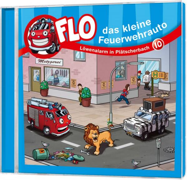 Flo - Das kleine Feuerwehrauto (10) - CD