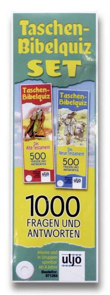 """Taschen-Bibelquiz-Set """"Altes und Neues Testament"""""""