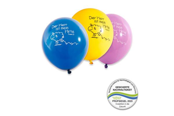 """Luftballons """"Der Herr ist mein Hirte"""" , 10er-Pack"""