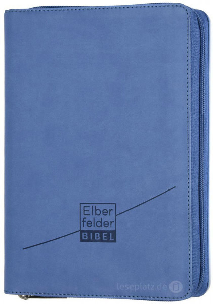 Elberfelder Bibel 2006 Standardausgabe - Kunstleder / Reißverschluss
