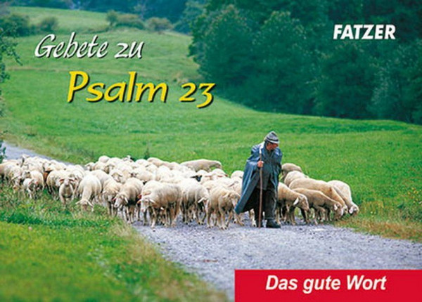 Gebete zu Psalm 23 - Verteilheft