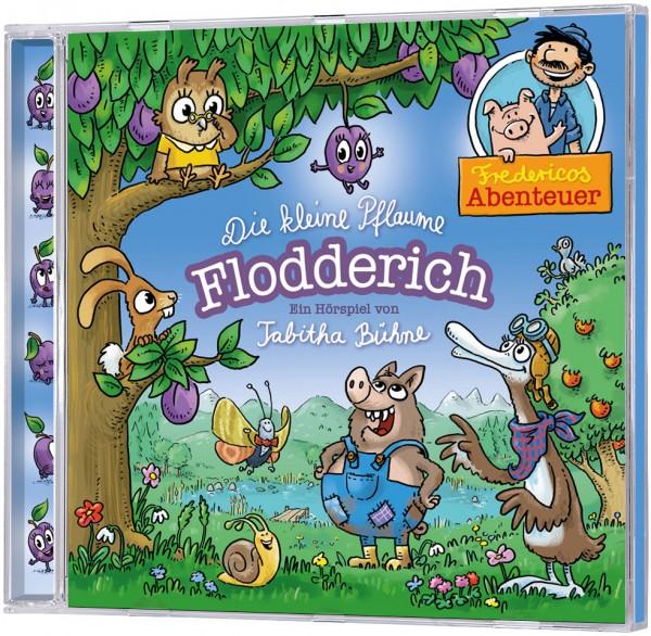 Die kleine Pflaume Flodderich - Hörspiel-CD