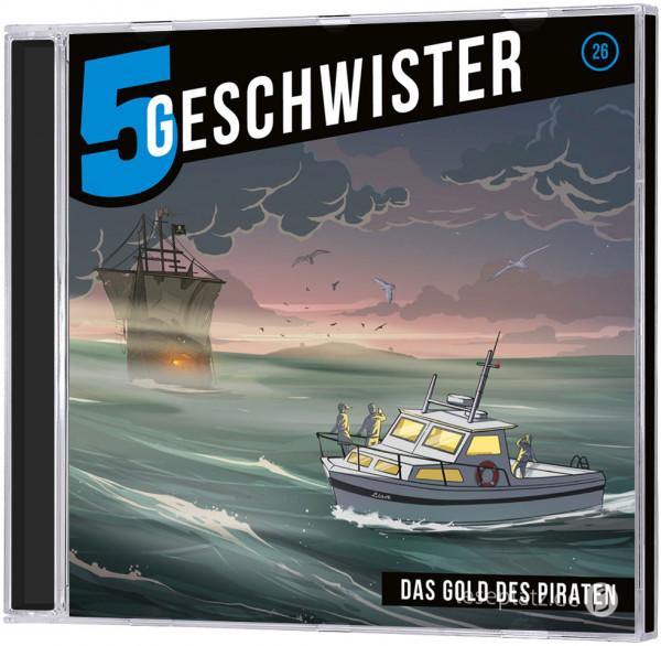 5 Geschwister CD (26) - Das Gold des Piraten