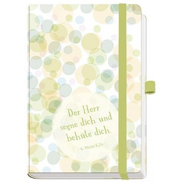 """Notizbuch Maxi """"Der Herr segne dich und behüte dich"""""""