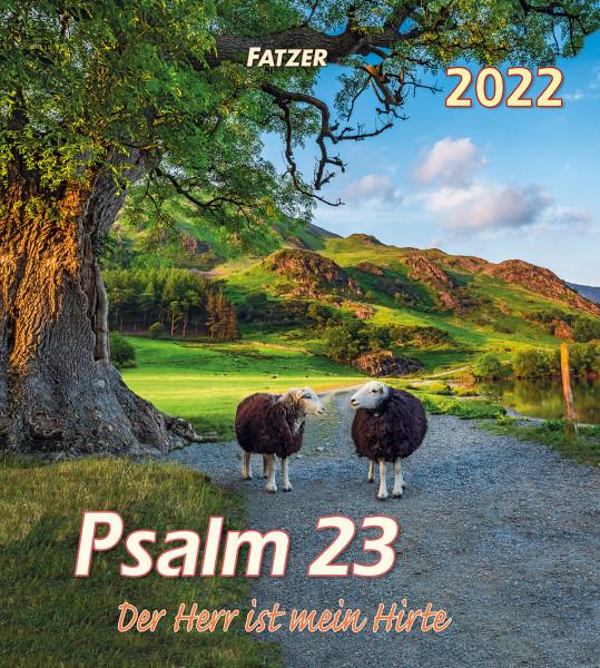Psalm 23 - Wandkalender 2022