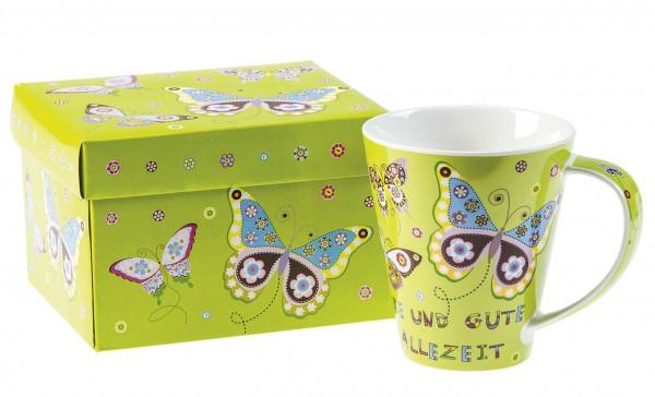 Jumbotasse ''Schmetterlinge''
