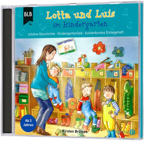 Lotta und Luis im Kindergarten - CD