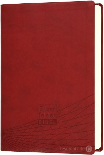 Elberfelder Bibel 2006 Standardausgabe - Kunstleder rot