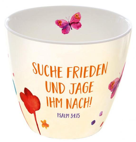 """Tasse """"Suche Frieden..."""""""